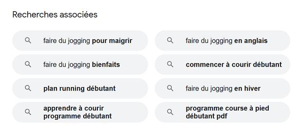 Google est un bon outil en rédaction web pour toruver des mots-clés