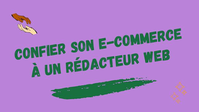 Rédacteur web e-commerce